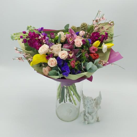 Букет 009: букеты цветов на заказ Flowwow