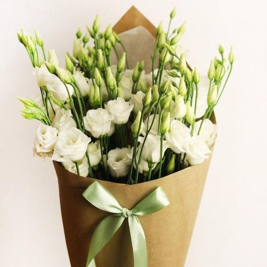 """Букет """"Эустома"""": букеты цветов на заказ Flowwow"""