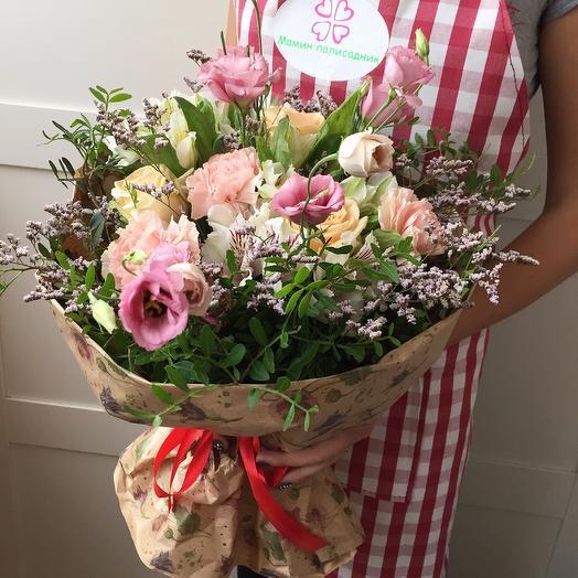 "Букет ""Пинк"": букеты цветов на заказ Flowwow"