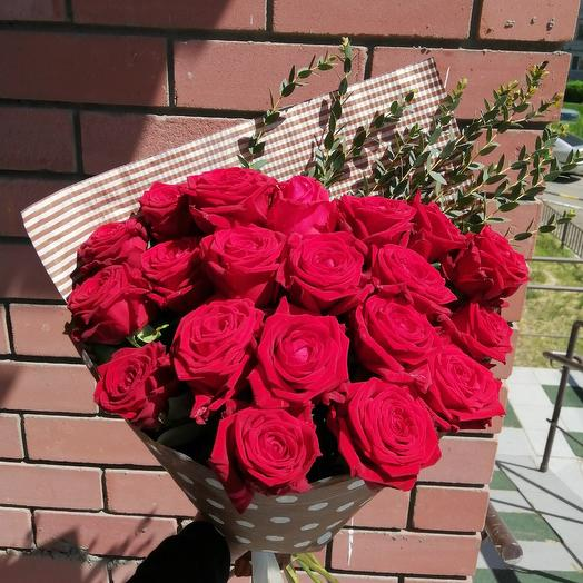 21 red rose: flowers to order Flowwow