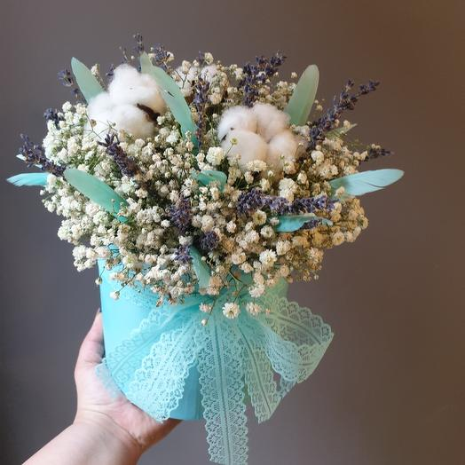 "Композиция "" Прованс Тиффани "": букеты цветов на заказ Flowwow"