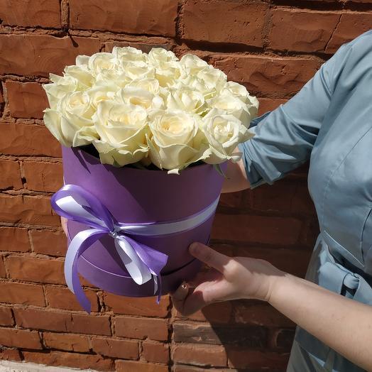 Коробка счастья: букеты цветов на заказ Flowwow
