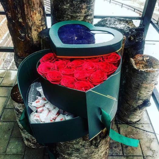 «Любовь с сюрпризом»: букеты цветов на заказ Flowwow