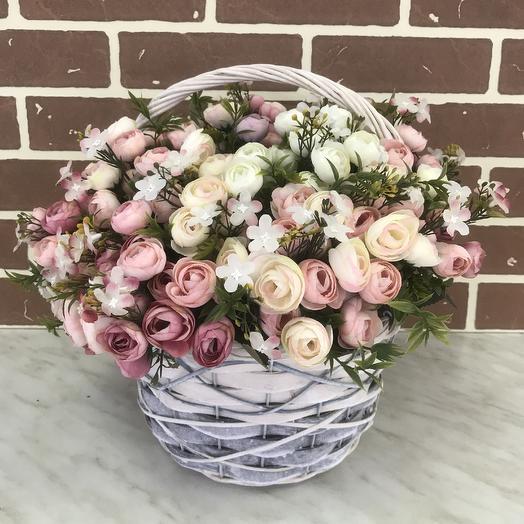 Искуственный декор: букеты цветов на заказ Flowwow