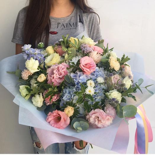 Небесный: букеты цветов на заказ Flowwow