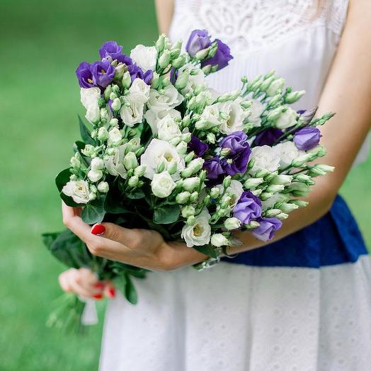 Bouquet of lysianthus: flowers to order Flowwow