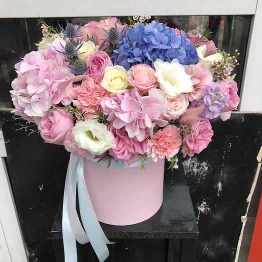 Коробка воздушная 💕: букеты цветов на заказ Flowwow