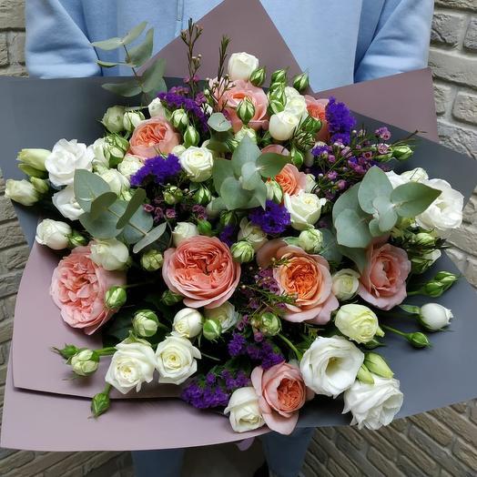 Розовое утро 2: букеты цветов на заказ Flowwow
