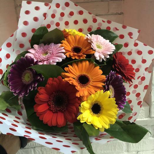 Букет «Палитра цветов»