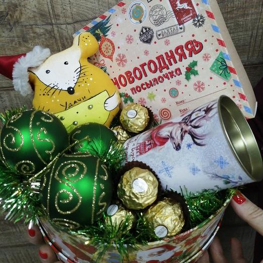 Вкусный подарочек на Новый год: букеты цветов на заказ Flowwow
