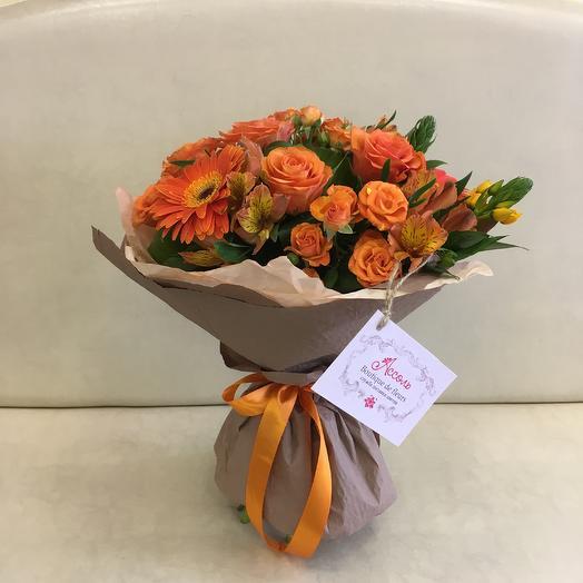Костёр чувств: букеты цветов на заказ Flowwow