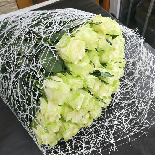 Букет из 51 розы 65см: букеты цветов на заказ Flowwow