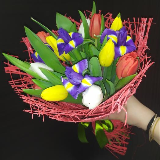 Весна: букеты цветов на заказ Flowwow