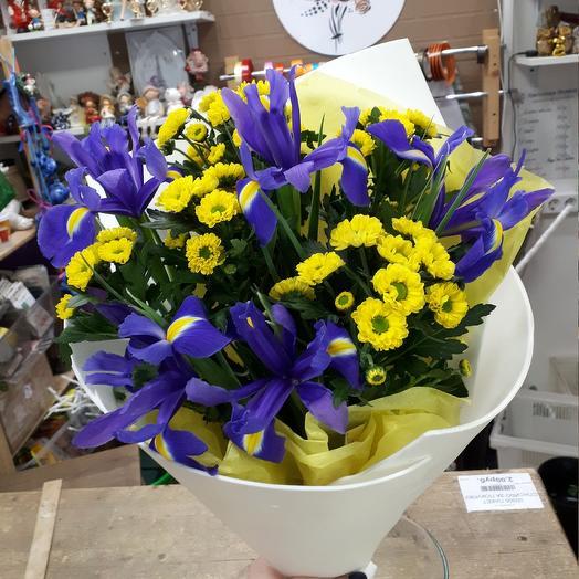 Ирисы🌺: букеты цветов на заказ Flowwow