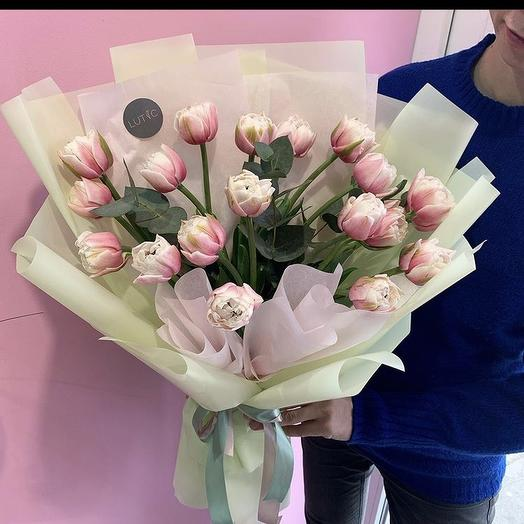Свежий весенний букет: букеты цветов на заказ Flowwow
