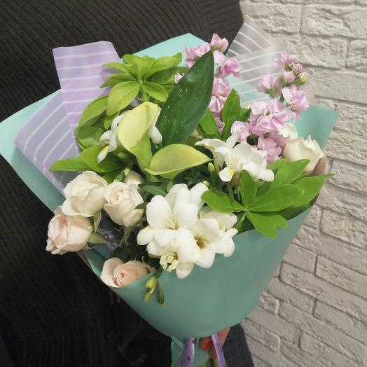 Самый весенний букет для солнечного настроения: букеты цветов на заказ Flowwow