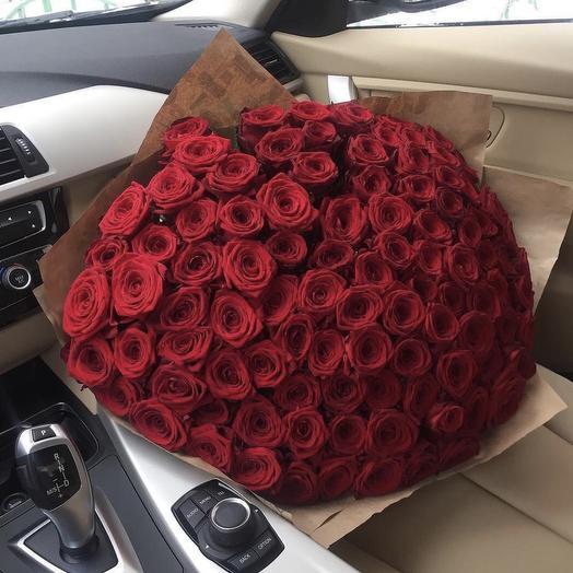 101 Роза 70см
