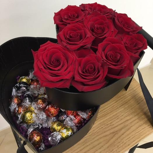 Sweets Roses: букеты цветов на заказ Flowwow