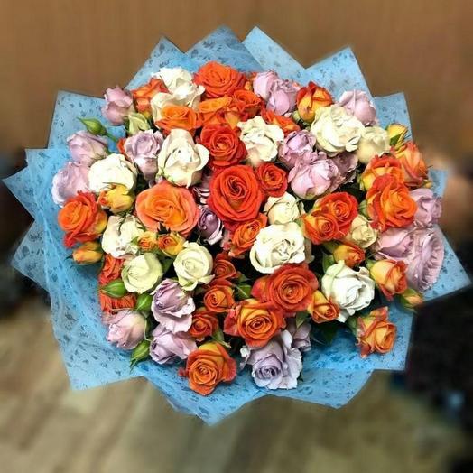 Взрыв эмоций: букеты цветов на заказ Flowwow