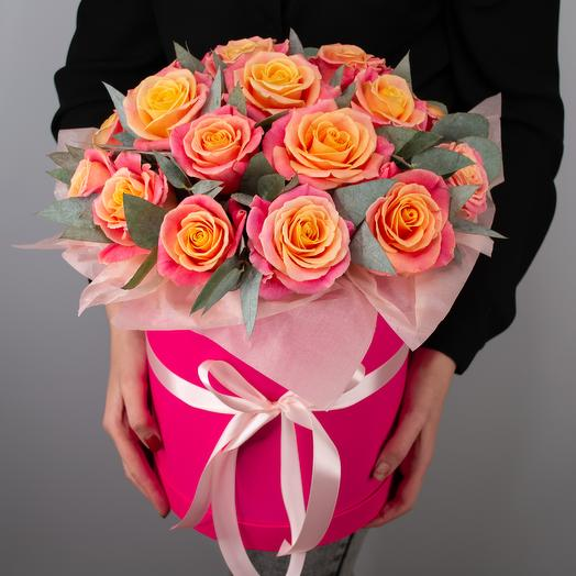 Коробочка с розами 15