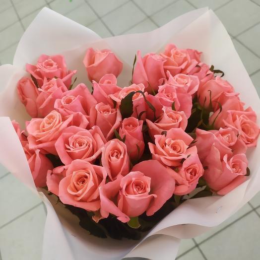 Букет роз нежный