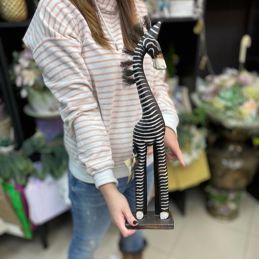 Статуэтка зебры 50 см