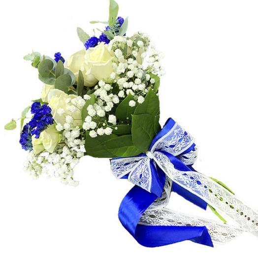 Букет невесты «Блюр»
