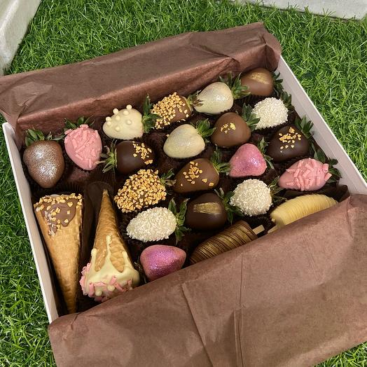 Подарочный набор Roxberry в коричневой упаковке