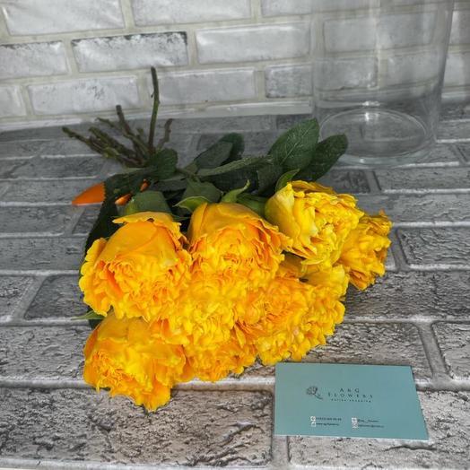 Монобукет из пионовидной розы