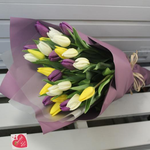 Тюльпан 35 шт микс