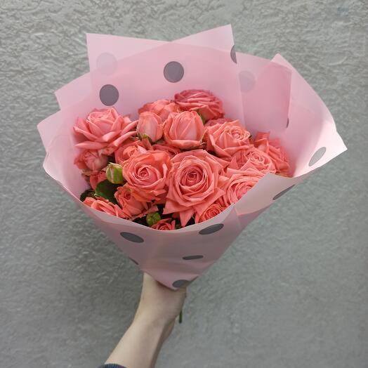Букет-комплимент Кустовых роз