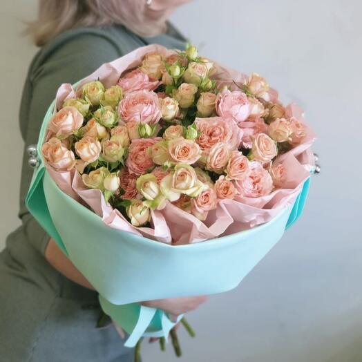 Нежная Роза кустовая