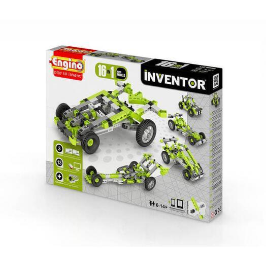 Конструктор Автомобили 16 моделей