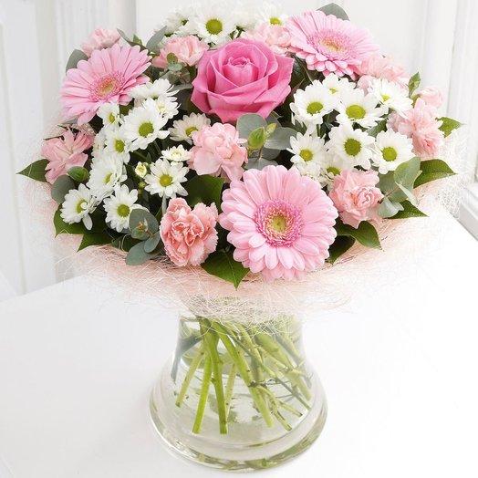 БЦ-160137 Нежное прикосновение: букеты цветов на заказ Flowwow
