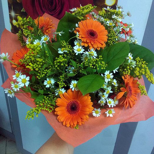 Оранжевое настроение (Букет 239): букеты цветов на заказ Flowwow