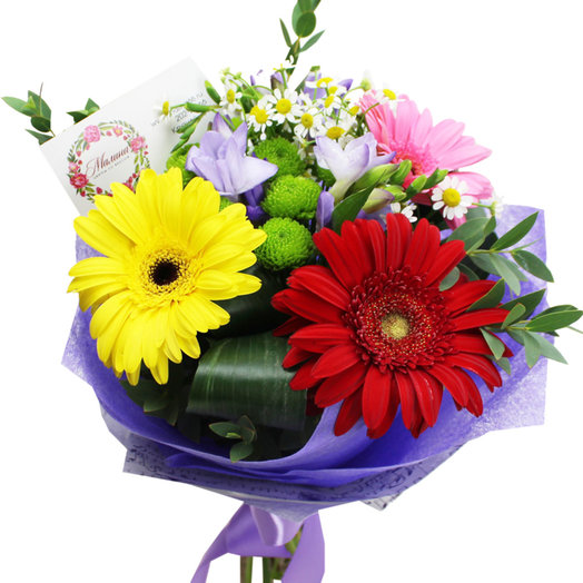 Букет Прекрасное начало: букеты цветов на заказ Flowwow