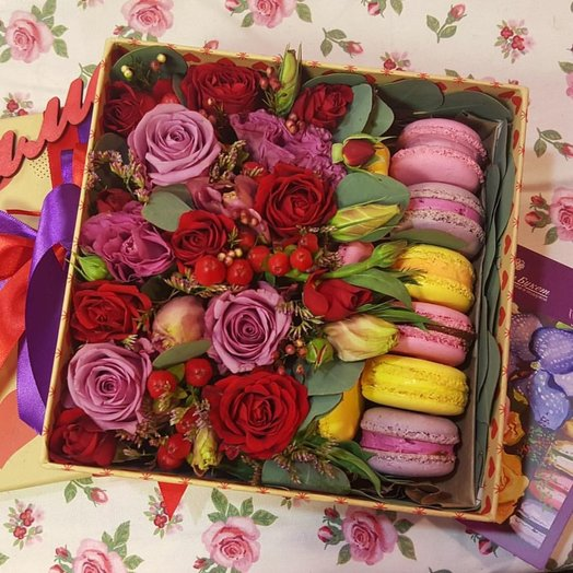 Положительных эмоций: букеты цветов на заказ Flowwow