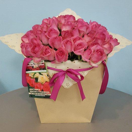 Композиция Любимой: букеты цветов на заказ Flowwow