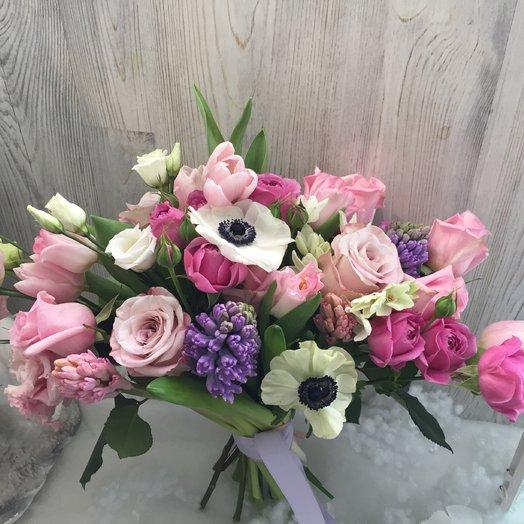 Весенняя радость: букеты цветов на заказ Flowwow