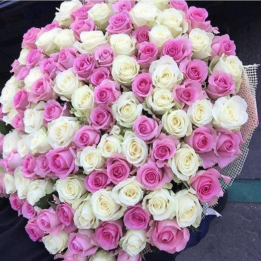 Розы 101: букеты цветов на заказ Flowwow