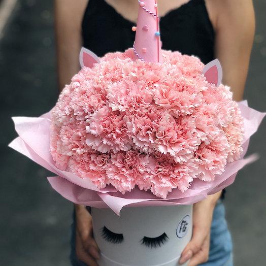 Единорог XL: букеты цветов на заказ Flowwow