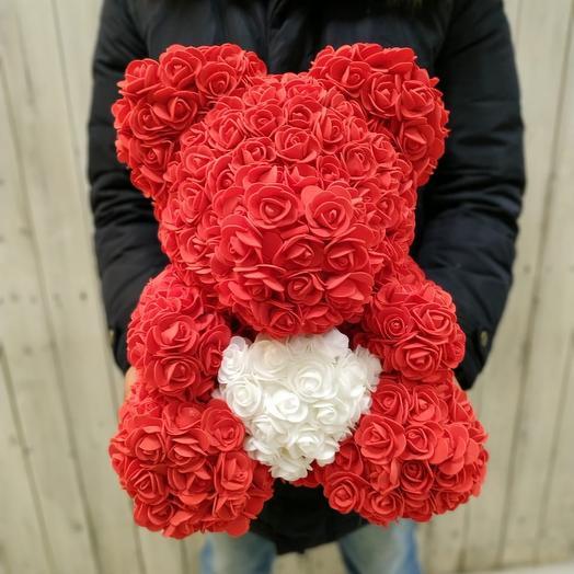 Teddy love: букеты цветов на заказ Flowwow