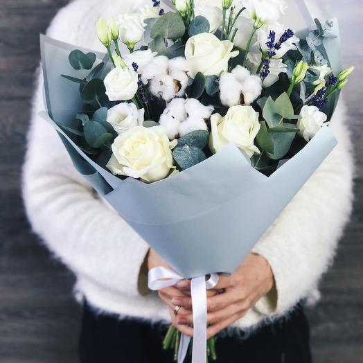 Букет комплимент 1: букеты цветов на заказ Flowwow