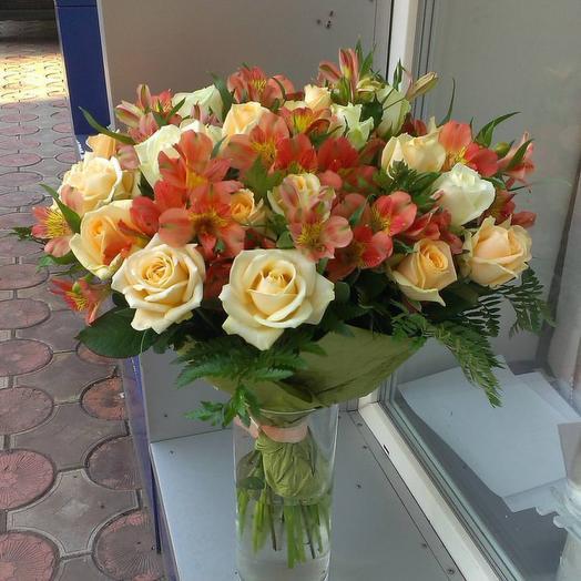 Сливки счастья: букеты цветов на заказ Flowwow