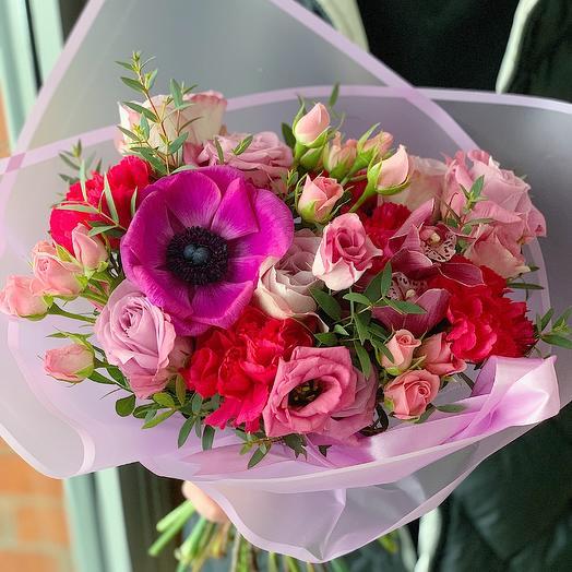 Ягодное наслаждение: букеты цветов на заказ Flowwow