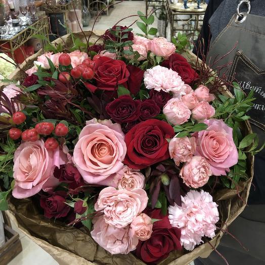 Ягодный микс: букеты цветов на заказ Flowwow