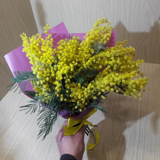 Мимоза Абхазская: букеты цветов на заказ Flowwow