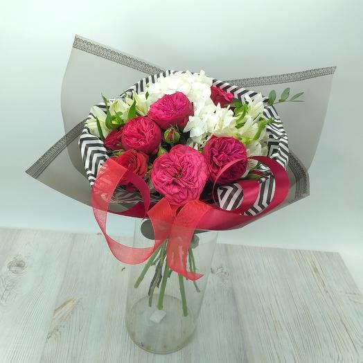 Букет 054: букеты цветов на заказ Flowwow