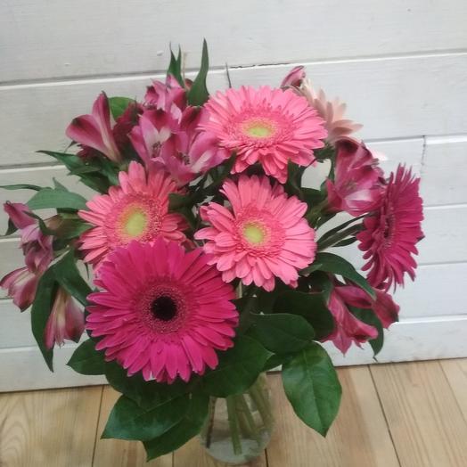 Букет цвета фуксия: букеты цветов на заказ Flowwow
