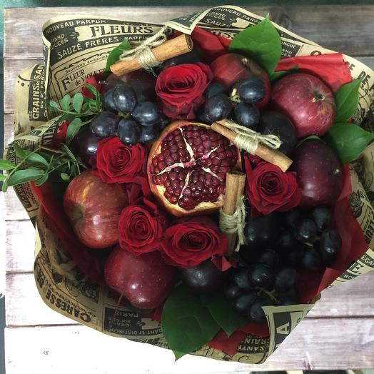 Роковая красотка: букеты цветов на заказ Flowwow